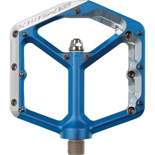 "Spank Spank Oozy Platform Pedals Blue 9/16"""