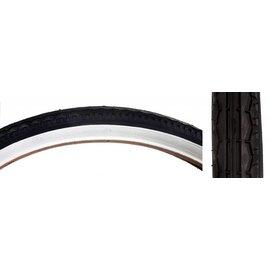 Sunlite Sunlite 26x1.75 Street Tire Wht/Blk Wire