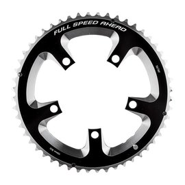 FSA FSA Super Road Chainring 110mm 52T 5-Bolt 10/11s Blk/Sil