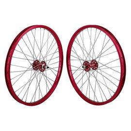 SE Bikes SE Bikes 24x1.75 BMX Wheelset 36H Red