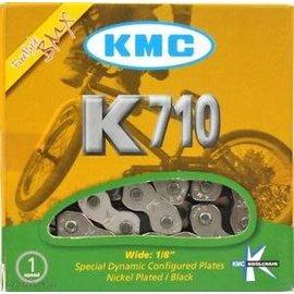 """KMC KMC K710 BMX Chain 112L 1/8"""" Sil/Blk"""