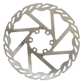 Clarks Clarks 6-Bolt CD Disc Brake Rotor 160mm Sil