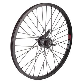 Black Ops Black-Ops Alloy BMX 20x1.75 Rear Wheel 36H CB Blk