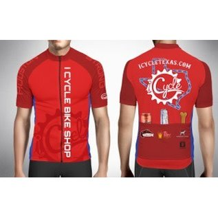 iCycle MS150 Team Jersey 2018 Red
