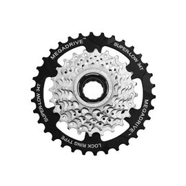 SunRace Sunrace 7-Speed Freewheel 13-34T Sil
