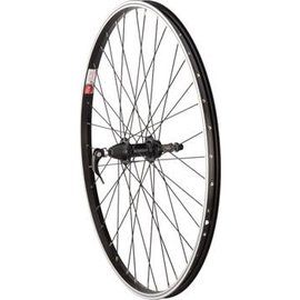 Sta-Tru Sta-Tru Rear Wheel 26x1.5 Quick-Release 36H 5-8 Speed FW Blk