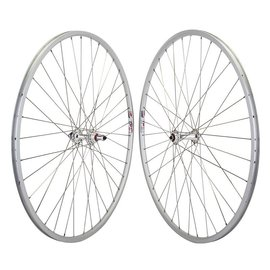 Wheelmaster Wheelmaster 27x1 LP18 5/6/7-Speed Road Wheelset Sil