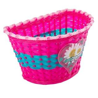Kidzamo Kidzamo Woven Basket Flower Pnk/Blu