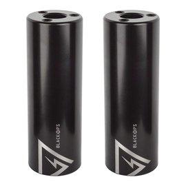 Black Ops Black-Ops Brinck Axle Pegs 35x100 3/8-14mm Blk