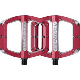Spank Spank Spoon 100mm Medium Pedals Red