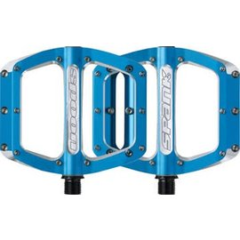 Spank Spank Spoon 100mm Medium Pedals Blu