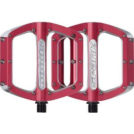 Spank Spank Spoon 110mm Large Pedals Red