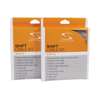 Serfas Serfas Stainless Shift Cable Kit