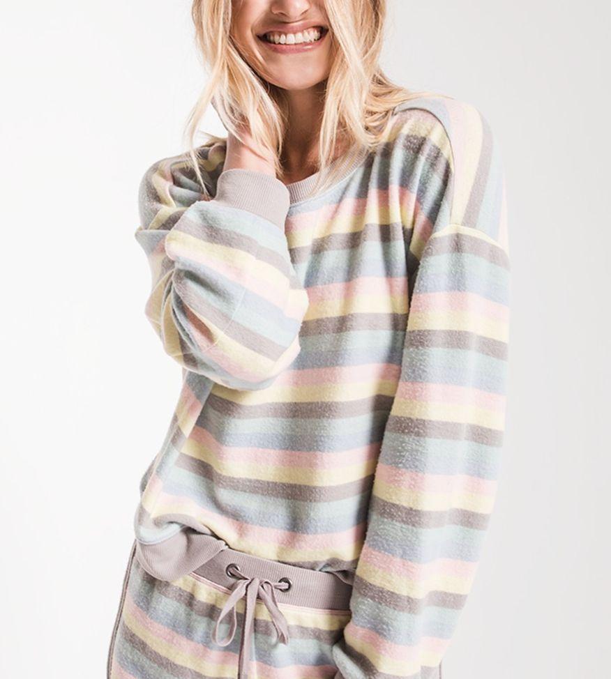 ea4f334991d4 Striped Pullover - Hailee Grace