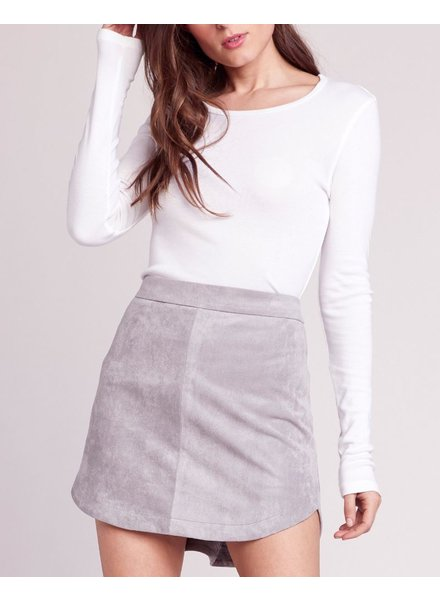 BB Dakota Faux Suede Skirt