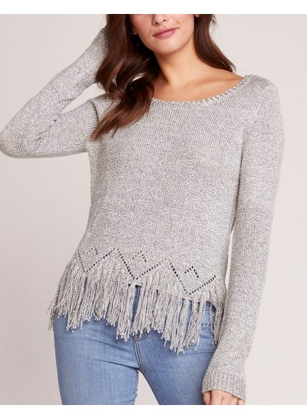 BB Dakota Fringe Detailed Sweater