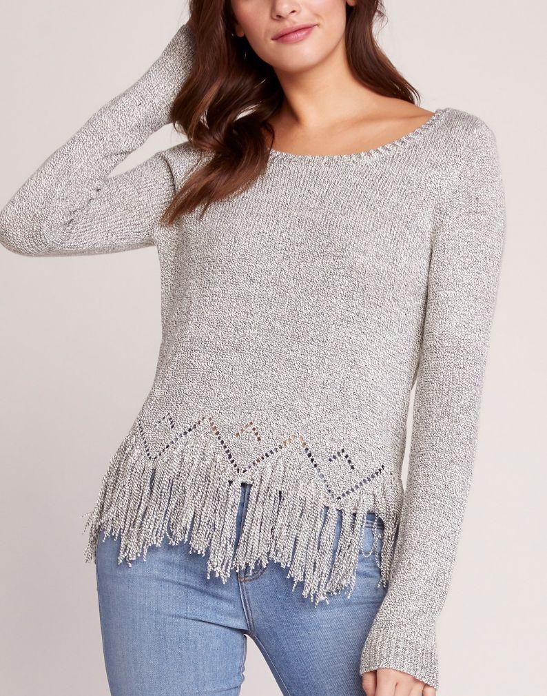BB Dakota Fringe Detailed Sweater