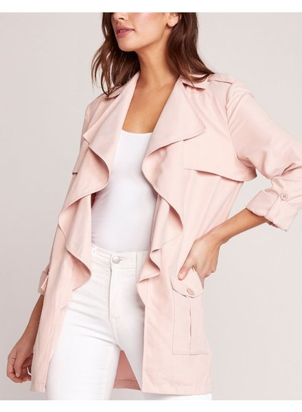 BB Dakota Draped Trench