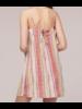 Band of Gypses Stripe Mini Dress