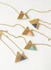 Gemstone Mountain Range Necklace