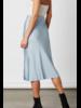 Cotton Candy High Slit Slip Skirt