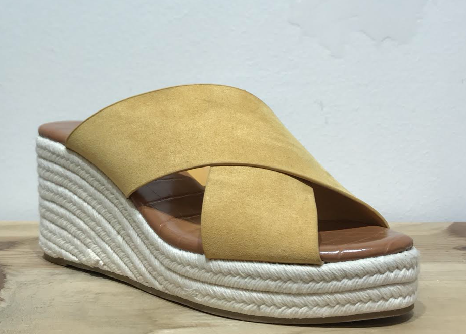 Cross Over Espadrille