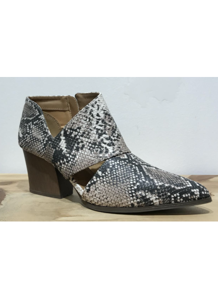Triangle Cut Out Bootie