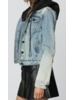 Denim Hood Jacket