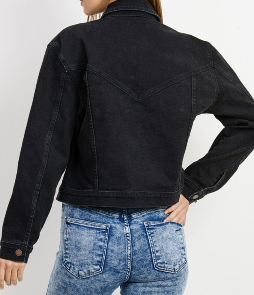 Cropped Vintage Jacket