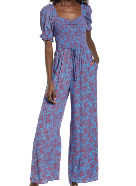 Band of Gypses Indigo Jumpsuit
