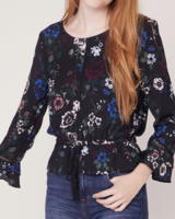 BB Dakota Midnight Bloom Top
