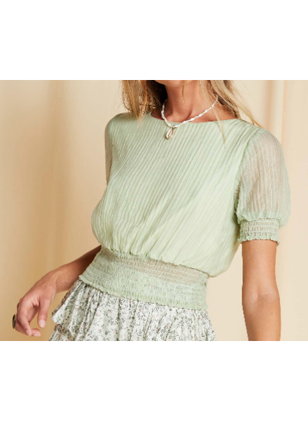 Sage The Label Cinched Blouse