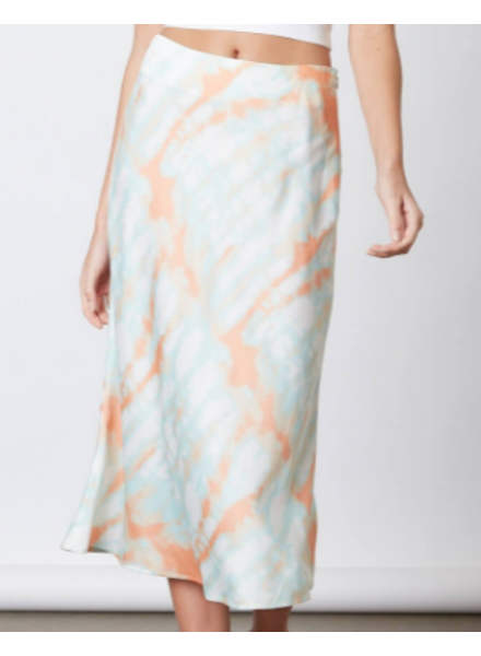Cotton Candy Tie-Dye Midi Skirt