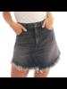 Fray Hem Skirt