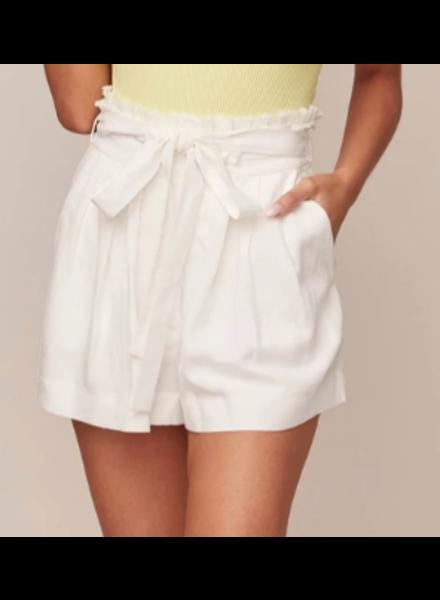 Pleated Belt Shorts