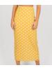 Toby Heart Ginger Polka Dot Midi Skirt