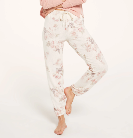 Ava Floral Joggers