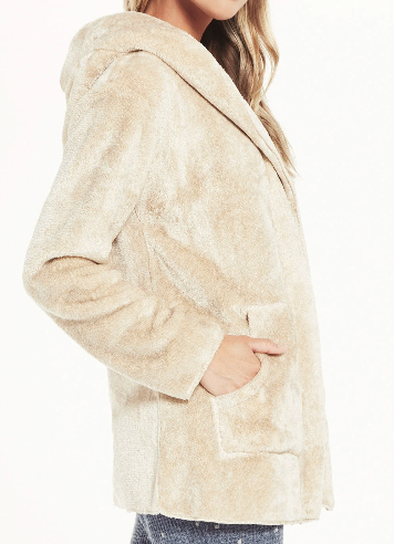 Shelby Plush Cardigan