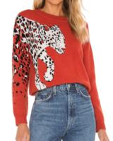 Feline Knit Sweater