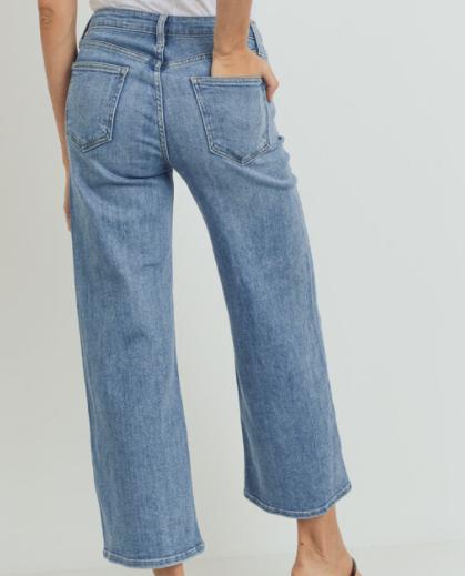 Slim Wide Leg