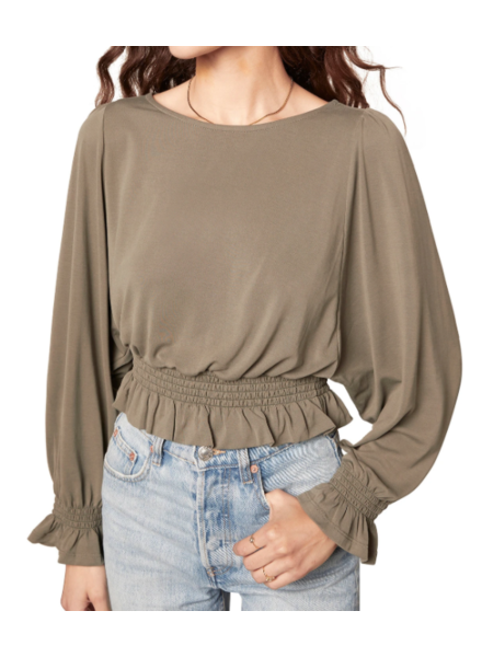 BB Dakota Sleeve To Believe Blouse