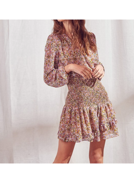 Sunrise Floral Dress