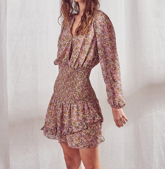 Sunrise Floral Dress
