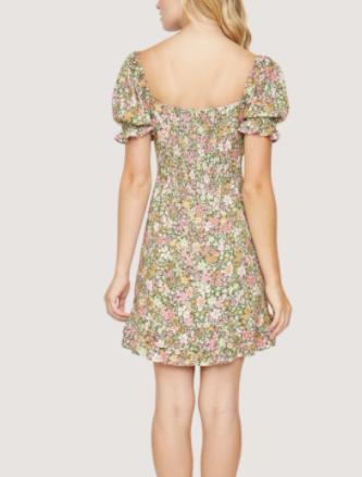 Spring Florals Dress