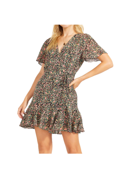 BB Dakota Counting Petals Dress