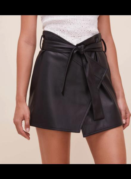 Blair Leather Skirt