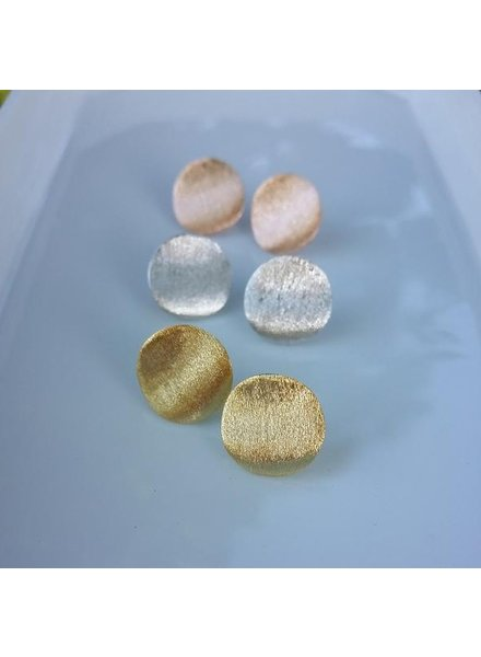 Round Disc Earring