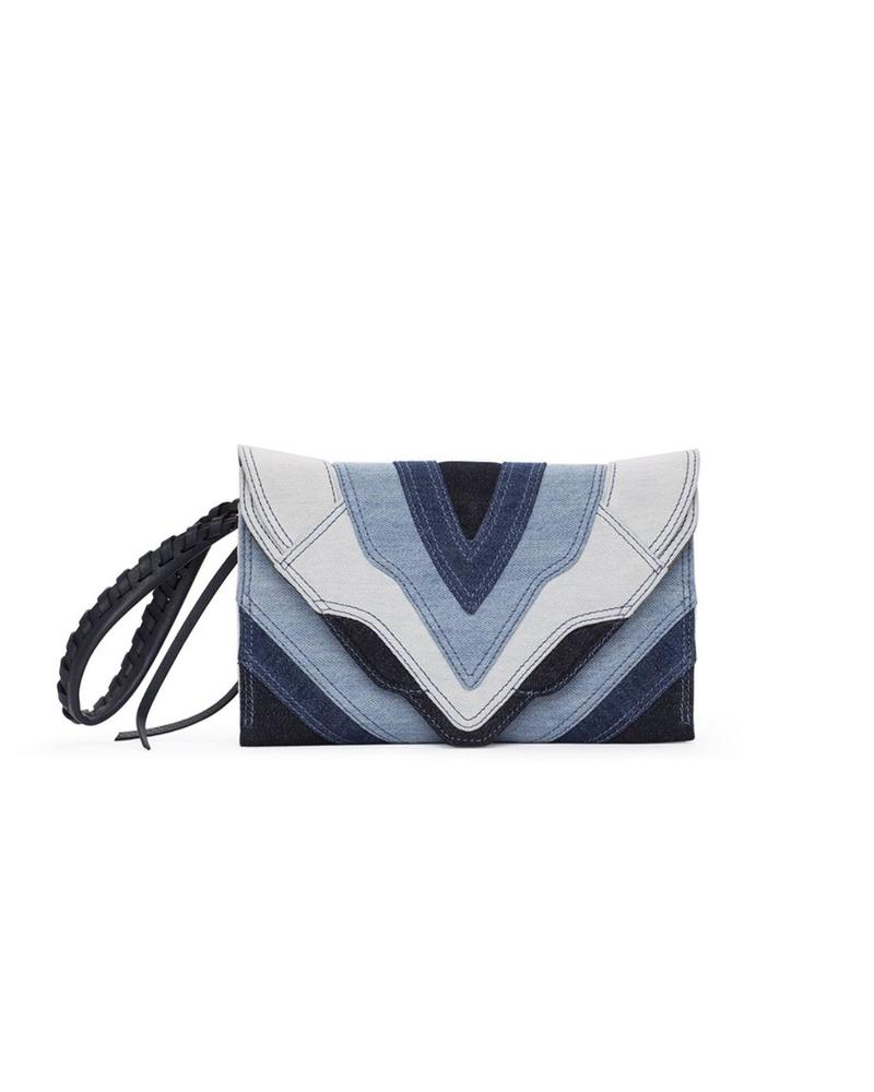 ELENA GHISELLINI Medium Felina denim bag