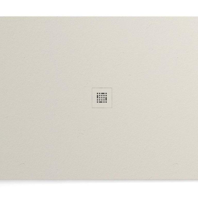 Fiora Sssp7242 Shower Base Quadro Slate 72x42 Off White Home