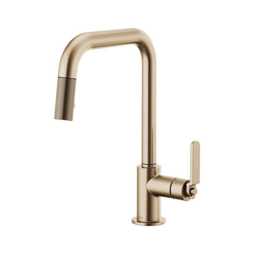 Brizo 63054lf Litze Pull Down Square Spout Faucet Luxe